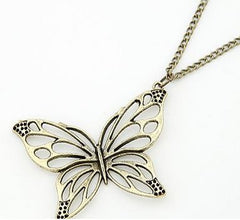 Metal Butterfly Pendant & Necklace-Special Celebration Events