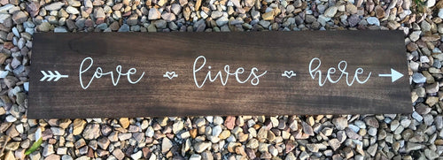 Custom Handpainted Sign