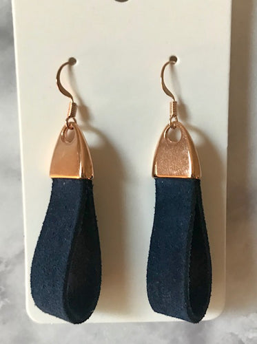 Suede Loop Earrings