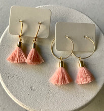 Load image into Gallery viewer, The Mini Tassel Earrings