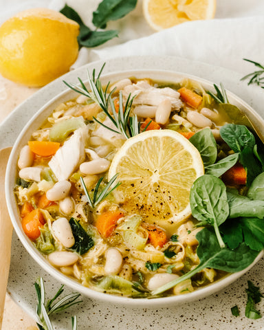 Chicken, White Bean & Lemon Stew