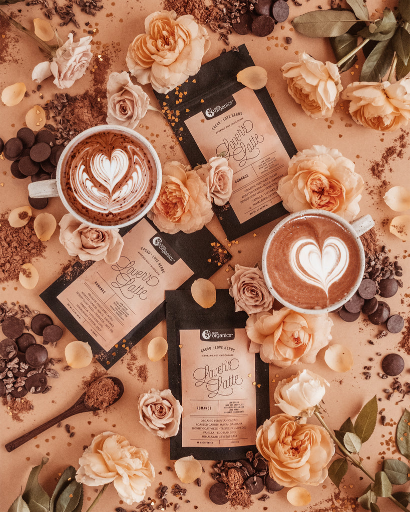 An evoking hot chocolate for lovers, meet new Lover's Latte