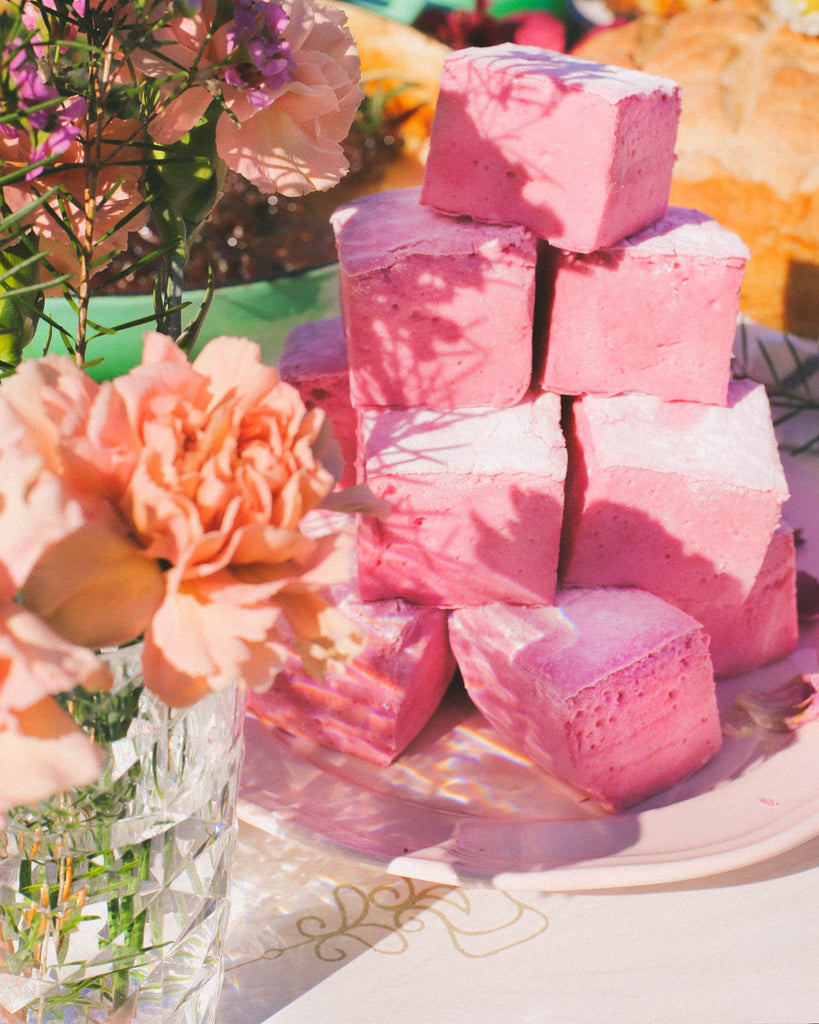 Pink Velvet Marshmallows