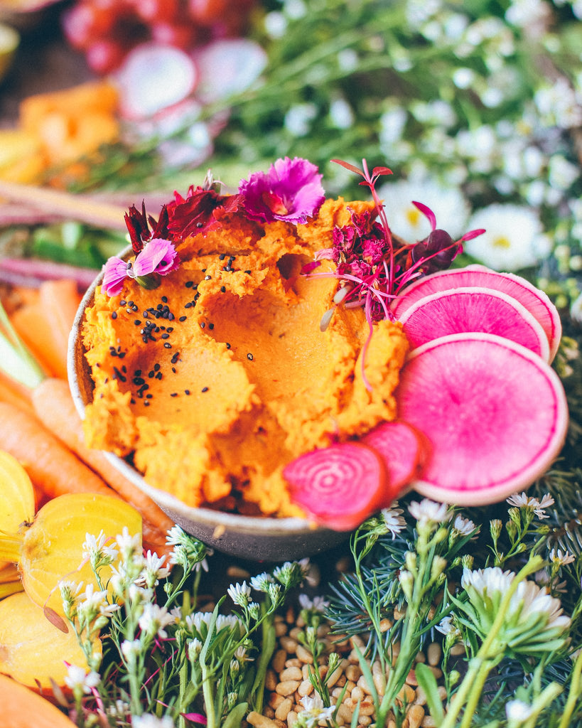 Smokey Roast Carrot Broth Dip