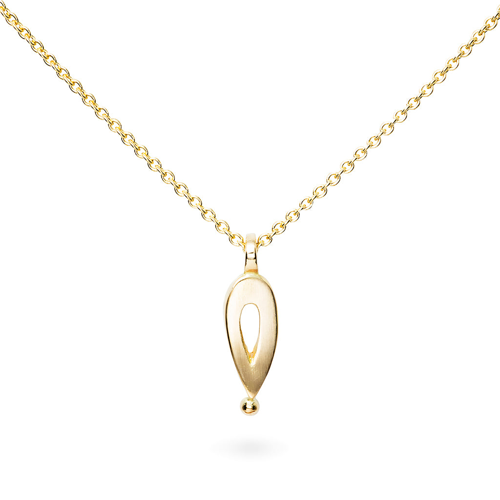 Unity Bead Pendant - 18ct gold