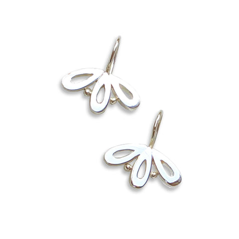 Unity Trio Earrings silver