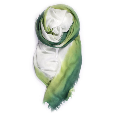 """Banded"" Scarf in Grass"