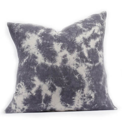 """Flora"" Pillow in Stone Grey"