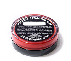 Victoria Wax Concours Red, worldwide shipping