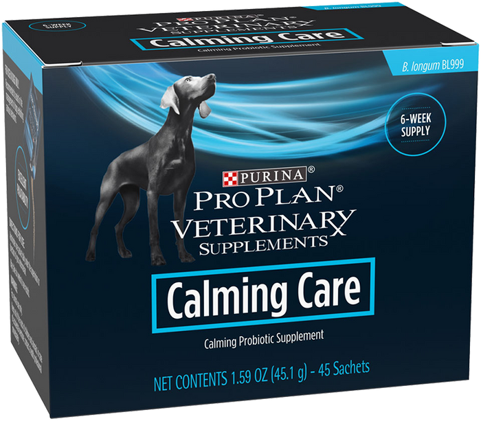 Pro Plan Veterinary Diets Calming Care Box of  45 (1 GRAM PACKETS)