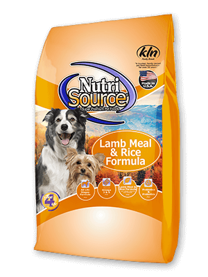 NutriSource Lamb Meal & Rice Formula 30#