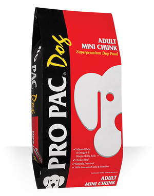 Pro Pac Adult Mini Chunk Dog Food