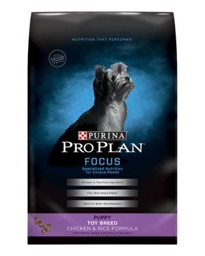 Pro Plan Toy Breed Puppy