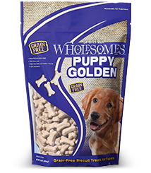 Golden Dog Biscuit Treats - Puppy 20# Bulk box