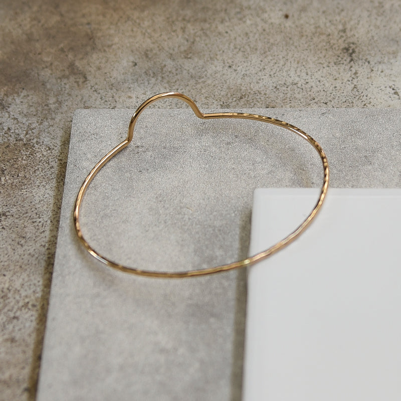 Slim Arc Bangle