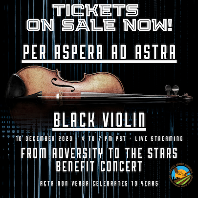 ANV's Per Aspera Ad Astra: From Adversity to the Stars Benefit Concert (Tickets and Sponsorships!)
