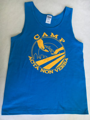 CAMP ANV BLUE TANK TOP(ADULT)