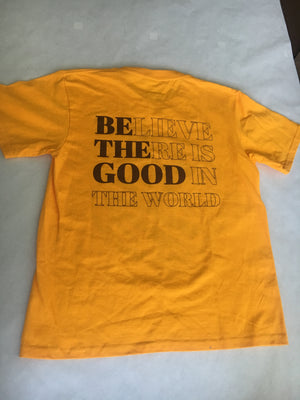 CAMP ANV GOLDENROD T SHIRT