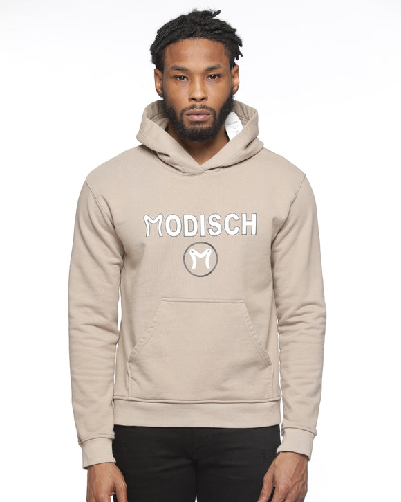 Modisch Cycle Logo Top - Beige w/ White & Black