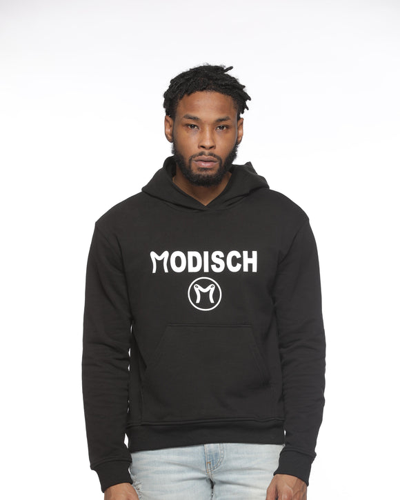 Modisch Cycle Logo Top - Black w/ White