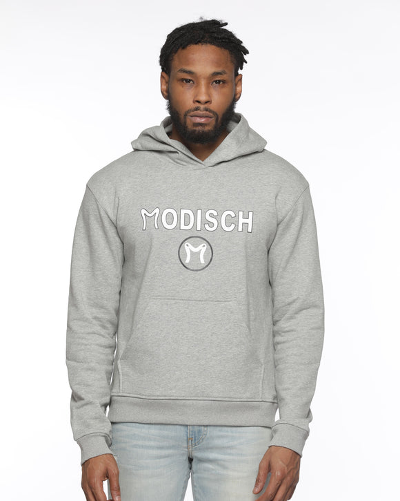 Modisch Cycle Logo Top - Grey w/ White