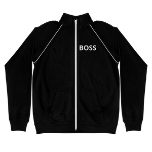Print Your Own Men's Piped Fleece Jacket