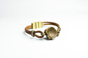Vertebracelet: Natural Brown Series