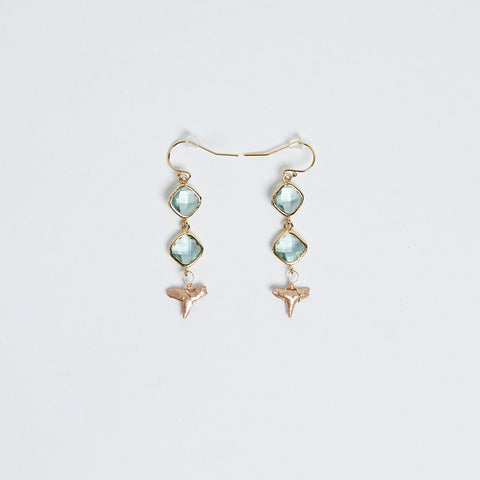 Saltwater Luxe Earrings - Foxy Fossils