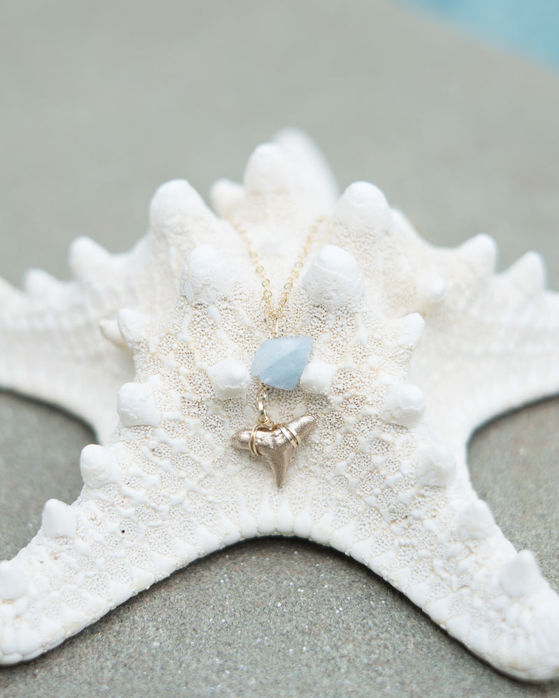 Of The Sea Necklace III - Foxy Fossils