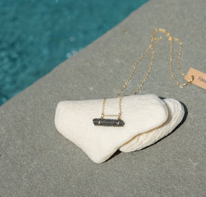 Stingray Barb Bar Necklace - Foxy Fossils
