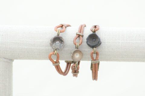 Vertebracelet: Light Brown Series