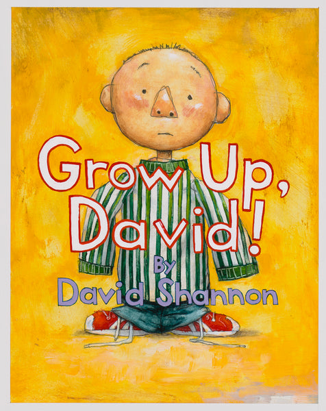 Grow Up, David! Title Page