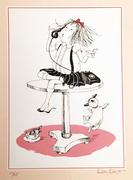 Eloise 'Room Service' Artist Proof