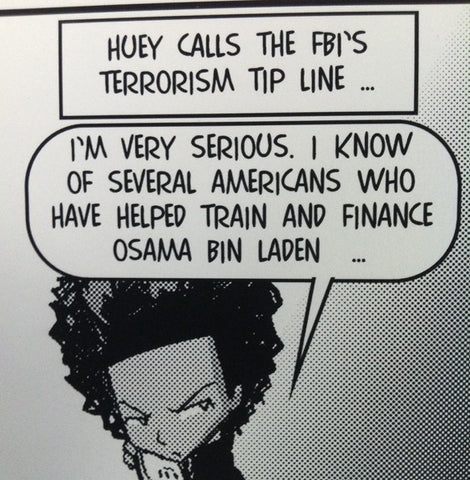 Huey Calls the FBI