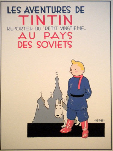 Tintin Land of Soviets