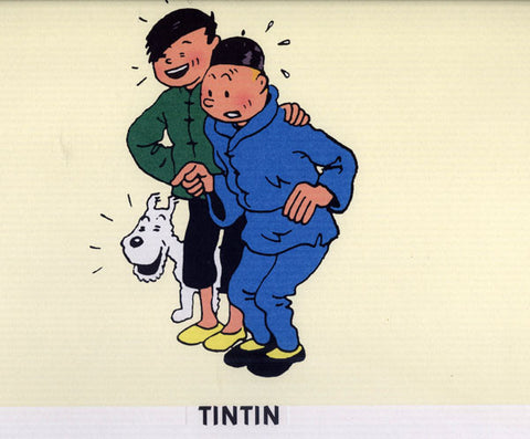 Tintin and Chang
