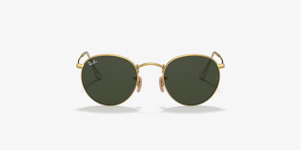 Gold Round Metal Ray-Bans