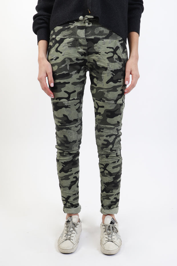Camouflage Crinkle Pants