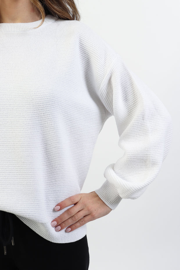 Ottoman Ribbed Sweater