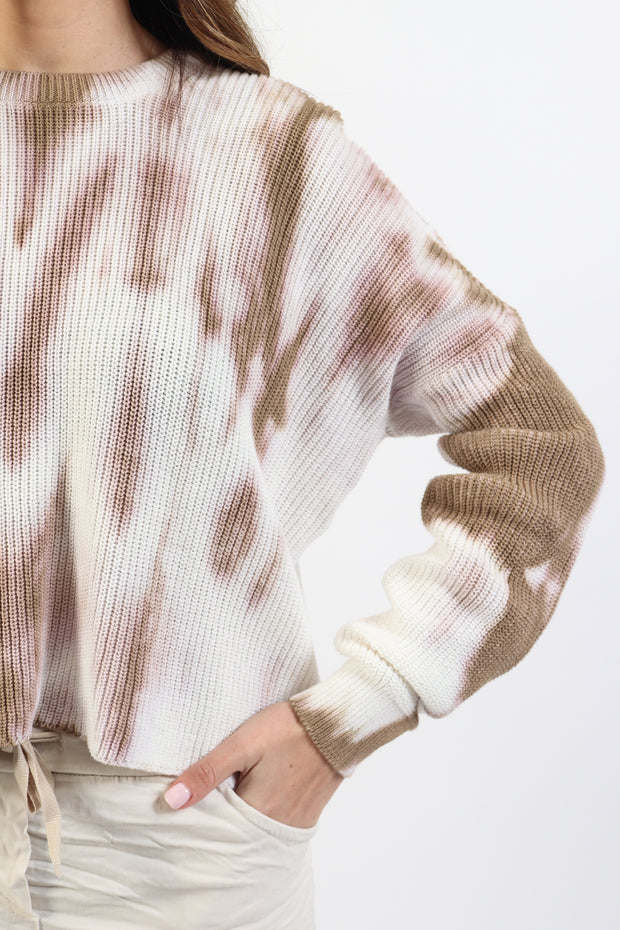 Lightweight Knit Tie Dye Sweater