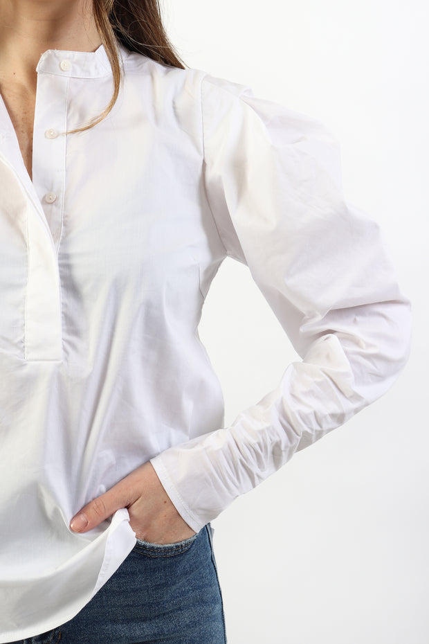 Lightweight Puff Sleeve Shirt