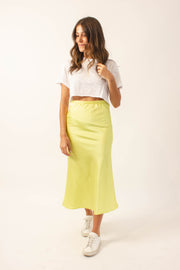Summer Satin Skirt