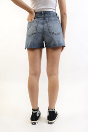 Super High Rise Denim Shorts
