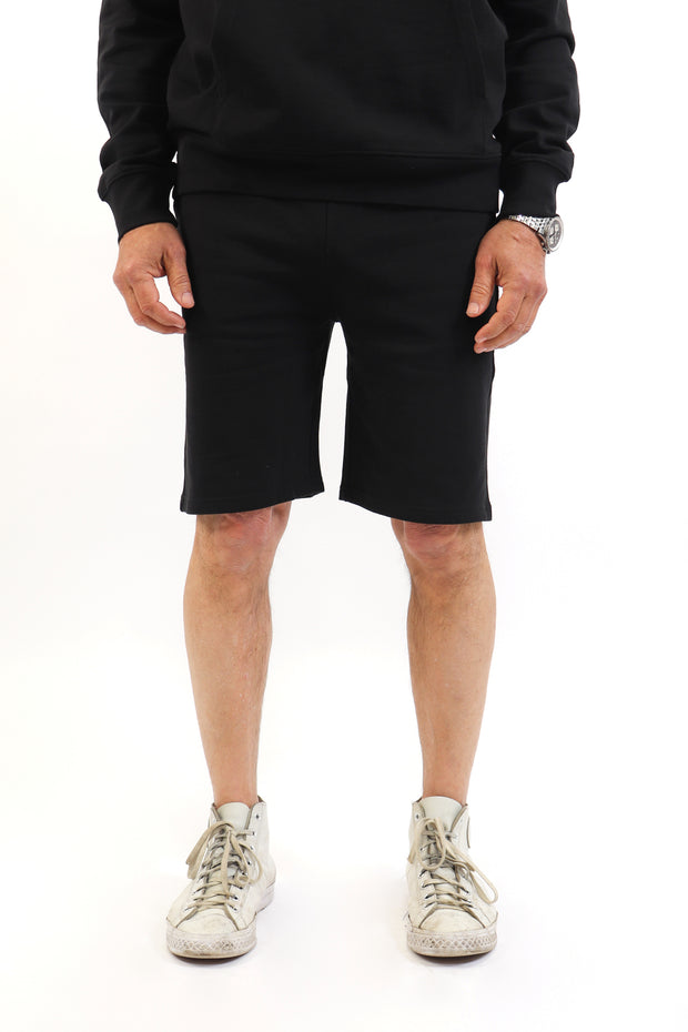 Men's Black French Terry Shorts