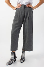 Cropped Suit Pants