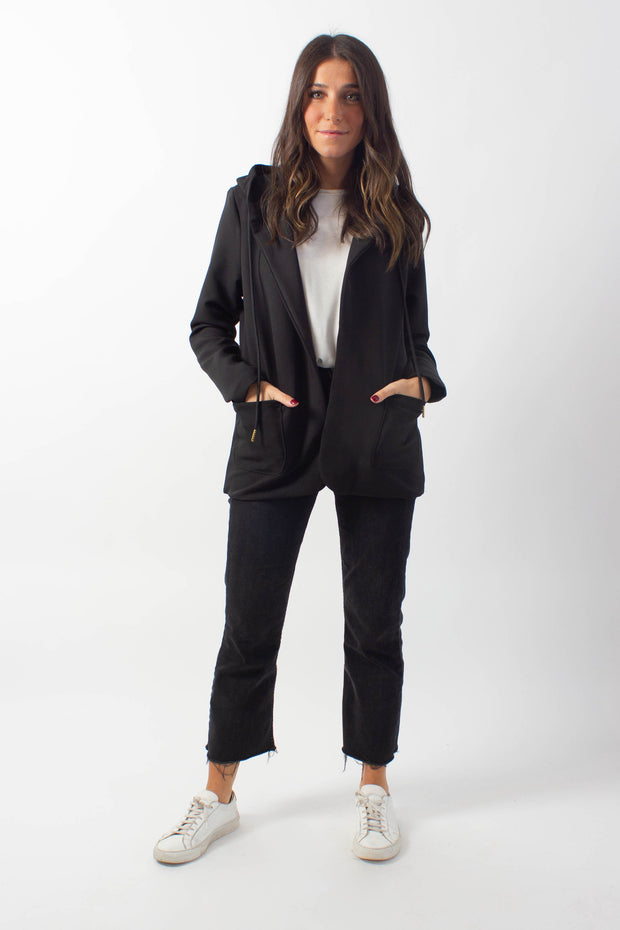 Scuba Hooded Blazer
