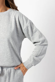 Basic Grey Crewneck