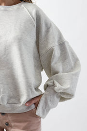 Split Sleeve Sweatshirt
