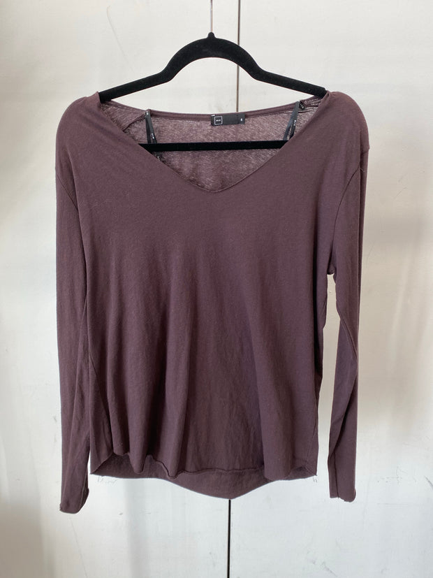 Deep Brown Lightweight Longsleeve