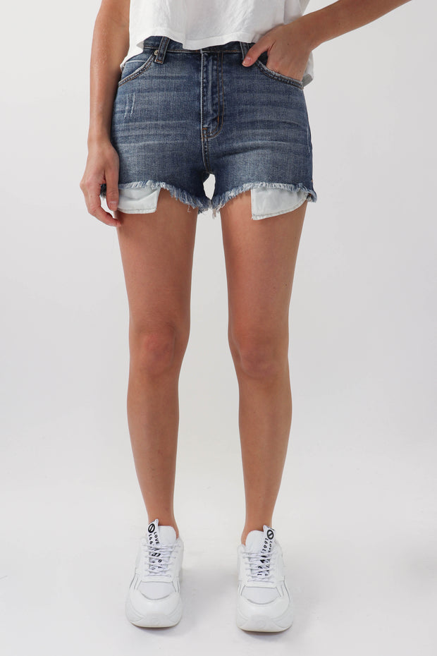 High Rise Slit Short